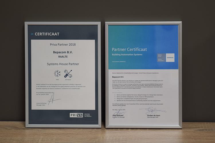 Geschiedenis-certificaten-Siemens-Priva